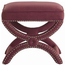 Traditional Footstools And Ottomans by Candelabra