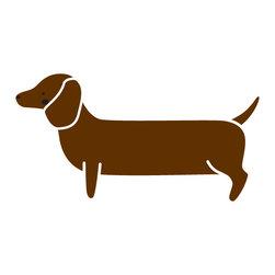 My Wonderful Walls - Dachshund Dog Stencil for Painting - - 2-piece dachshund stencil