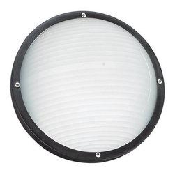 Sea Gull Lighting - Sea Gull Lighting 83057 Bayside 1 Light Flush Mount Ceiling Fixture - Specifications: