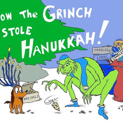 """The Grinch (First Draft)"" by Paul McGehee - © Paul McGehee"