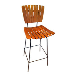 SOLD OUT!  Mid Century Bar Stool by Arthur Umanoff - $300 Est. Retail - $275 on -