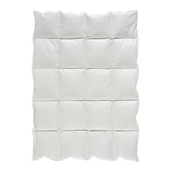 Sweet Jojo Designs - Baby Down White Blanket by Sweet Jojo Designs - Get down with it! This cozy blanket is plumped full of billowy down, providing your little one with a layer of lightweight warmth that can be enjoyed year-round.