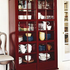 contemporary storage units and cabinets by Pottery Barn