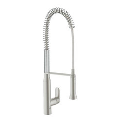 Grohe - Grohe K7 Single-Lever Kitchen Faucet Grohe Silkmove Ceramic Cartridge (32951DC0) - Grohe 32951DC0 K7 Single-Lever Kitchen Faucet Grohe Silkmove Ceramic Cartridge, Super steel