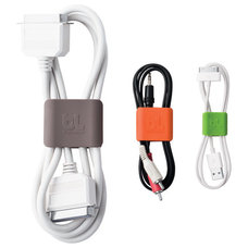 Contemporary Cable Management by The Container Store