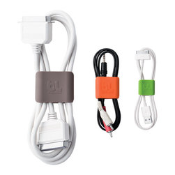 CableClips - Get those cluttered cords under control with these clever clips. I just bought a few for my own office — they're life changing!