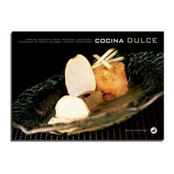 "Cocina Dulce by Frederic Bau & Other Pastry Chefs Hardcover Book- Spanish Editio - Ten teachers are recognized inside and outside Spain, renowned artisans who raise sweet art at the highest level: Fre""de""ric Bau, Yann Duytsche, Jordi Roca, Montse Estruch, Mey Hofmann, Ramon Freixa, Josep Armenteros, Isaac Balaguer, Annick Janin and Abraham Balaguer make authors the exclusive box, with dishes that reveal their endless creativity in the sweetest corner of the kitchenOver 80 recipes and 260 formulasColor photographsHardcover216 pagesPublisher: Montagud EditoresLanguage: SpanishEdition published in 2006Format: 12 x 8.5"" (30.2 x 21.5 cm)ISBN: 978-84-7212-102-1English & French edition is also availableFre""de""ric Bau, Yann Duytsche, Jordi Roca, Montse Estruch, Mey Hofmann, Ramon Freixa, Josep Armenteros, Isaac Balaguer, Annick Janin y Abraham Balaguer. A team of ten of the most vanguardist Pastry Chefs."