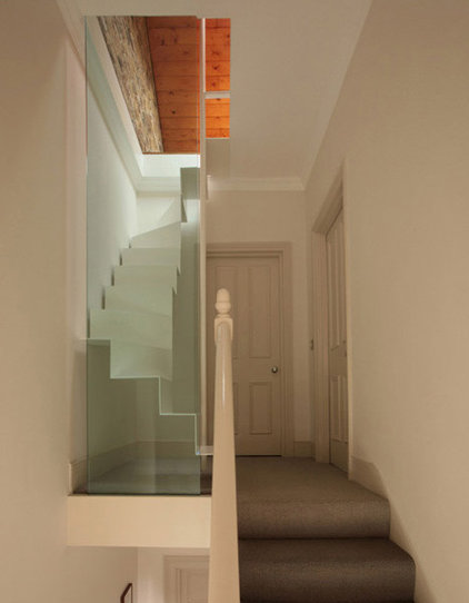 modern staircase Tamir Addadi Architecture - loft access london
