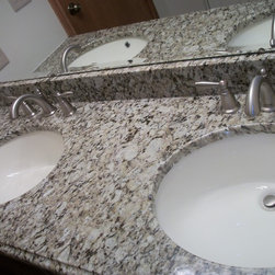 Shop Kitchen Faucets Moen Vanity Tops & Side Splashes on Houzz