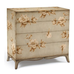 Jonathan Charles - New Jonathan Charles Chest of Drawers Green - Product Details