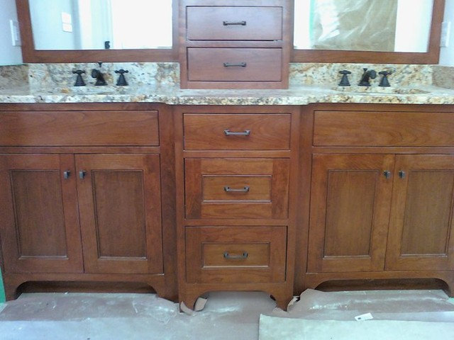 Traditional Bathroom by Taylor Made Cabinets, Leominster MA