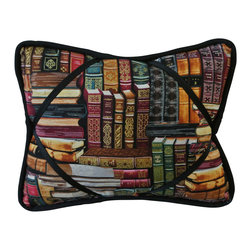 """Library iBuddy Tablet Pillow For iPad - Our iBuddy tablet holder is designed for the iPad, iPad2, Kindle DX or other tablets and touch pads of similar size. Comes in a variety of colors and patterns to accommodate all age groups!  Supported Devices: iPad & Tablet Holder Pillow For iPad, iPad 2, iPad 3, iPad 4, iPad with Retina Display, Kindle DX, Kindle Fire 8.9"""" 4G, Nook HD+, Samsung Galaxy Tab 10.1 & Google Nexus 10"""