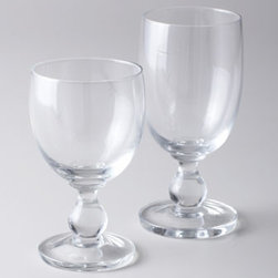 Horchow - Four Hanna Iced-Tea Glasses - Elegantly simple drinkware in clear, smooth glass adds a classic touch to table settings. From Dansk. Dishwasher safe but hand wash recommended. Sold in sets of four; each holds 8 ounces. Imported.