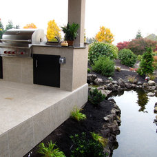 Traditional Patio by Urban Elements Interior Space