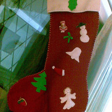 Traditional Living Room christmas stocking