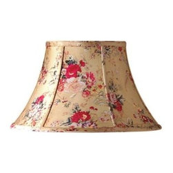 Laura Ashley - Laura Ashley Angelica 14 in. Floral Bell Shade SLL26114 - Shop for Lighting & Fans at The Home Depot. Founded in 1953, Laura Ashley has become a quintessential English brand, synonymous with quality, creativity, and individuality. Laura Ashley products are recognized worldwide for their colorful patterns and iconic floral prints. This floral Laura Ashley lamp shade is made of cotton, and will be a vibrant addition to any room.