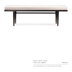 B O L I E R - 90010 bench requires 2.5 COM yards. Contact chicchicchicago@gmail.com for ordering assistance.