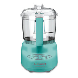 Cuisinart - Cuisinart DLC-2ATQ Turquoise 3-cup Mini-Prep Plus Food Processor - This easy to use Mini-Prep Plus food processor from Cuisinart is easy to clean and will find a convenient storage space in any kitchen thanks to its compact size. With a SmartPower blade,this processor makes quick work of chopping,mincing and pureeing.