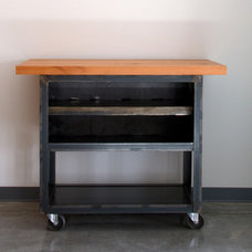 Industrial Kitchen Islands And Kitchen Carts by Barn Light Electric Company