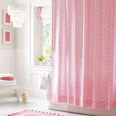 Contemporary Shower Curtains by PBteen