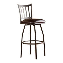 Holly and Martin - Garratt Adjustable Counter/Bar Stool - Versatility is key for supplemental seating! This adjustable stool is the ultimate choice for stylish bar or counter seating.