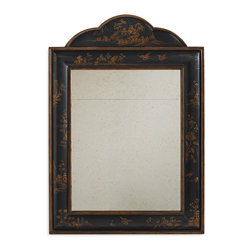 Baker Furniture - Petworth Mirror - This is functional art - and a personal favorite of Michael S Smith. With heavy lacquer and raised, but still muted, hand decoration, the Pentworth brings a designer touch without too much formality. Easily mixed with other Baker collections - whether traditional or modern. A great accent and an immediate classic.