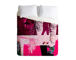 DENY Designs - Randi Antonsen City 3 Duvet Cover - Turn your basic, boring down comforter into the super stylish focal point of your bedroom. Our Luxe Duvet is made from a heavy-weight luxurious woven polyester with a 50% cotton/50% polyester cream bottom. It also includes a hidden zipper with interior corner ties to secure your comforter. it's comfy, fade-resistant, and custom printed for each and every customer.