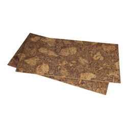 "Forna - 1/4"" Forna Cork Tiles Rocky Bush (21.31sq.ft) - Installation Type: Glue-down"
