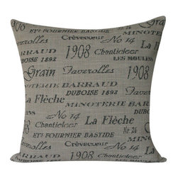 French Press Cappuccino Collection Throw Pillow l Chloe and Olive - Chloe & Olive