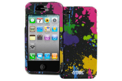 Accessories And Decor Empire Paint Splatter Design Hard Case for Apple iPhone 4S