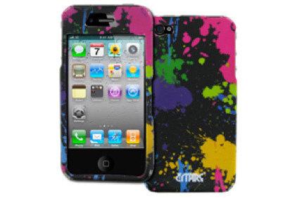 Home Decor Empire Paint Splatter Design Hard Case for Apple iPhone 4S