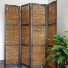 Asian Screens And Wall Dividers Bangkok Folding Screen Room Divider