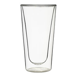 DUOS Beverage 15oz, Set of 2 - The Luigi Bormioli family combines a commitment to great design, traditional Italian craftsmanship and new-age glassmaking technology to create beautiful glassware of the highest quality. Luigi Bormioli rivals fine crystal in appearance and elegance, but is lead-free, affordably priced and widely available.