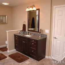 Modern Basement by Design Builders & Remodeling Inc.