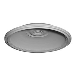 "Ekena Millwork - Traditional Recessed Mount Ceiling Dome (32 5/8""Diameter x 6""D Rough Opening) - 36 5/8""OD x 32 5/8""ID x 6 1/2""D Traditional Recessed Mount Ceiling Dome (32 5/8""Diameter x 6""D Rough Opening). Urethane ceiling domes enhance interiors with rich texture and traditional appeal. Many of our urethane ceiling domes include classic decorative details, ranging from floral motifs to crisp moulding. Whether you seek something subtle or ornate, we have a urethane ceiling dome for you. Each ceiling dome is factory primed and ready for your paint or faux finish. Each dome is manufactured out of a high density urethane foam, which is great for durability, but is also lighter than other materials to make installation a snap. Enhance your room with a beautiful ceiling dome focal piece."