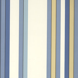 Surfside Stripe - Bay Breeze - A gorgeous collection of mid-century and craftsman style wallpapers - The Ralph Lauren Family Places.