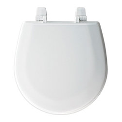 Bemis Toilet Seats - Bemis B1400TTA000 Elongated Closed Front Molded Wood Toilet Seat in White - B140 - Shop for Seats from Hayneedle.com! About BemisRenowned for its high-quality bathroom fixtures and design the family-owned Bemis company stands for durability and innovation. The organization serves markets worldwide while remaining well known for serving residential consumers as well as commercial medical and industrial markets. All under the respected name of Bemis these products made to serve a number of markets and industries are all well designed and can found all around the world.