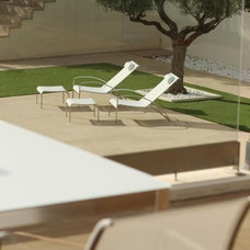 Contemporary Outdoor Chaise Lounges by Royal Botania