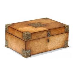 Jonathan Charles - New Jonathan Charles Box Satinwood Flip-Top - Product Details