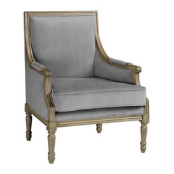 Marie Chair - I love the padding on this armchair. It is so pretty.