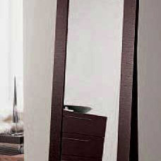 Modern Makeup Mirrors Soho Vertical Stand Alone Mirror By Doimo