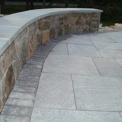 Retaining Walls - A retaining wall can give your patio an incredible look. Why make a patio without one? Add to your ideabook if this project seems like it might be soon in the works at your home!   Chevy Chase, MD   Johnson's Landscaping Service