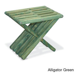 None - Stool X30 Outdoor Stool - The Stool X30 is sure to be a practical and fun addition to your favorite outdoor space. Featuring a modern design, this charming stool offers a solid pine wood construction and comes in your choice of attractive colors.