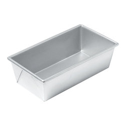 Chicago Metallic - Chicago Metallic Commercial II Loaf Pan - Would-be bakers of America arise! Your efforts are about to be rewarded. Breads cook evenly, meatloaf is juicy and cleanup is a snap. Now there's nothing you can't accomplish.