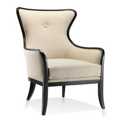 ARTeFAC - Transitional Wing Arm Chair in Fabric - Transitional Wing Arm Chair in Fabric