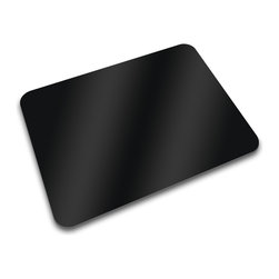 Joseph Joseph - Worktop Saver, Black - This worktop saver not only saves your worktop counter and tabletops, it also provides a hygienic, odor and stain resistant work surface for all of your food preparation tasks. Unfortunately, counter and tabletops often house harmful germs and bacteria. When food comes into contact with these contaminates, food becomes tainted and tainted food can make us very ill. Plus, using knives on stone, wood or laminate countertops, is never a good idea. Joseph Joseph's Worktop Savers save your worktops and save you. Plus, this worktop saver is made of toughened glass; it does not retain odors and stains and it will not break. Joseph Joseph is so sure of this that they offer a lifetime warrantee against breakage. They are that sure. The unique deigns is a Joseph Joseph original; not only will the Worktop Saver's functionality impress you, so too will the signature design. Black. Saver measures 12 by 16 by 1/4-inch. Made in the UK.