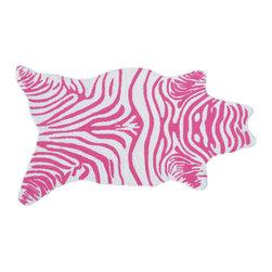 The Rug Market - Mini Zebra area rug -