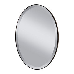 Murray Feiss - Oil Rubbed Bronze Mirror - Item Weight: 19.1 lbs.