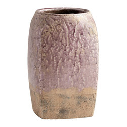 Cyan Design - Cyan Design Large Conway Planter in Purple Glaze - Large Conway Planter in Purple Glaze