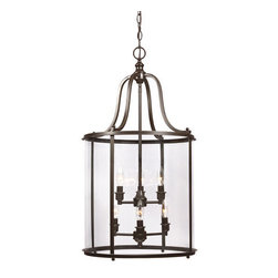 Sea Gull Lighting - Sea Gull Lighting 5118406 Gillmore 6 Light Pendant - Features: